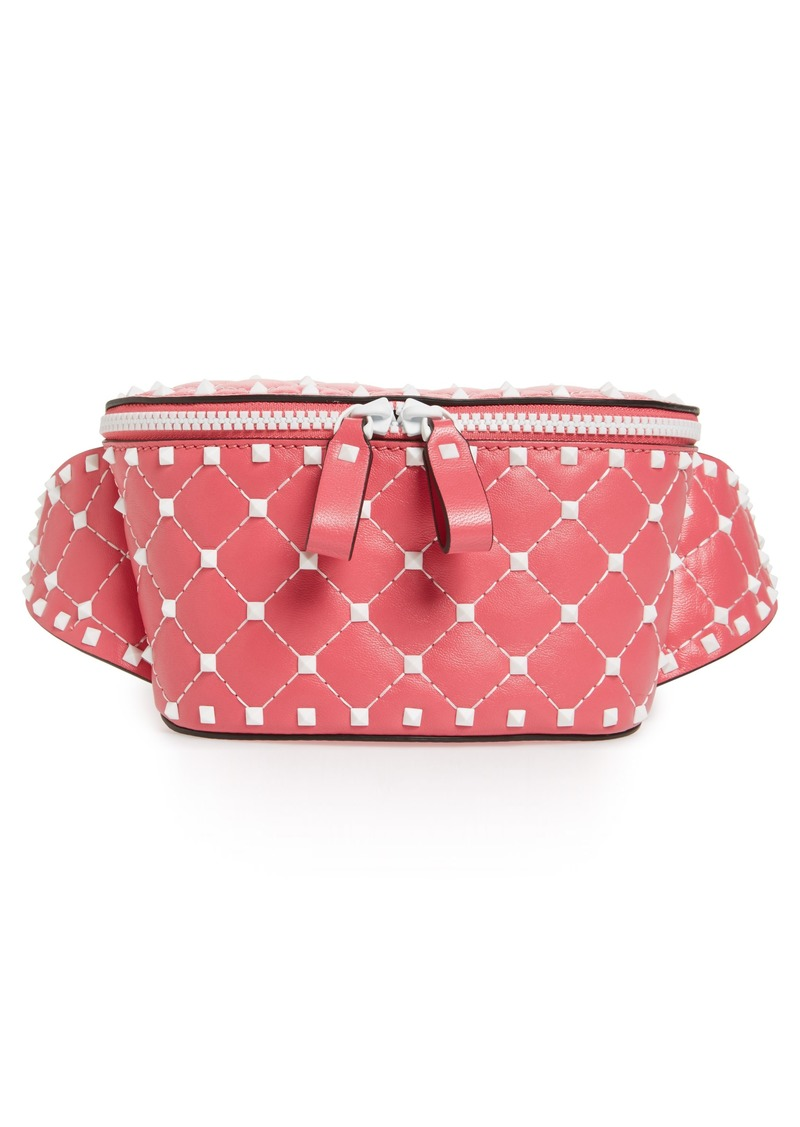 cdc36354ed4 GARAVANI Rockstud Matelassé Leather Belt Bag