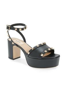 Valentino Garavani Rockstud Platform Sandal (Women)