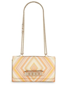 Valentino Garavani Rockstud Printed Leather Shoulder Bag