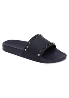 VALENTINO GARAVANI Rockstud Slide Sandal (Men)