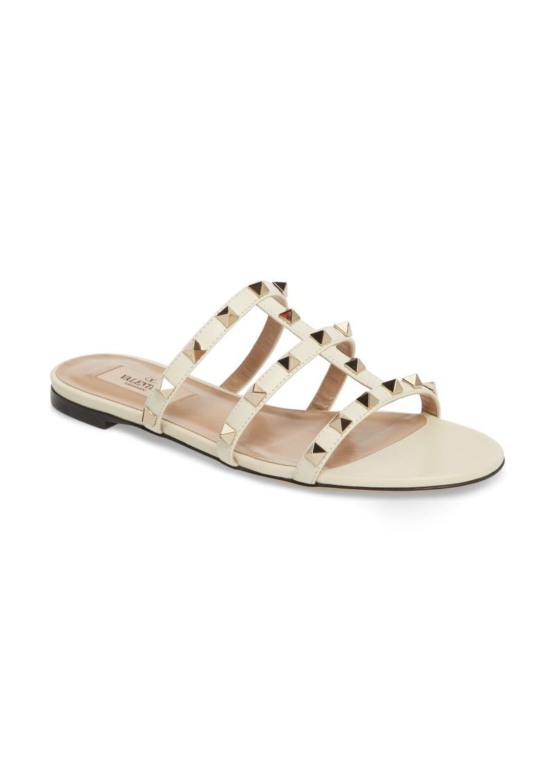 10390313bbe2 Valentino VALENTINO GARAVANI Rockstud Slide Sandal (Women)