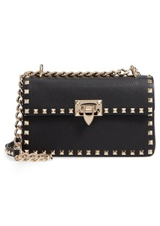 VALENTINO GARAVANI Rockstud Small Leather Crossbody Bag