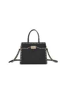 Valentino Garavani Rockstud Small Vitello Leather Tote Bag c7c75739add50