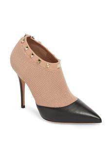 VALENTINO GARAVANI Rockstud Sock Bootie (Women)