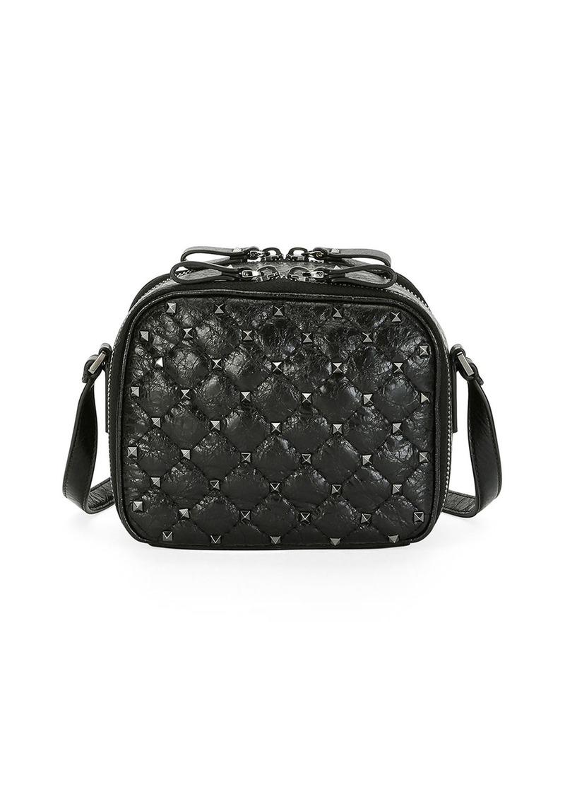 56eb37129 Valentino Valentino Garavani Rockstud Spike Crossbody Camera Bag ...