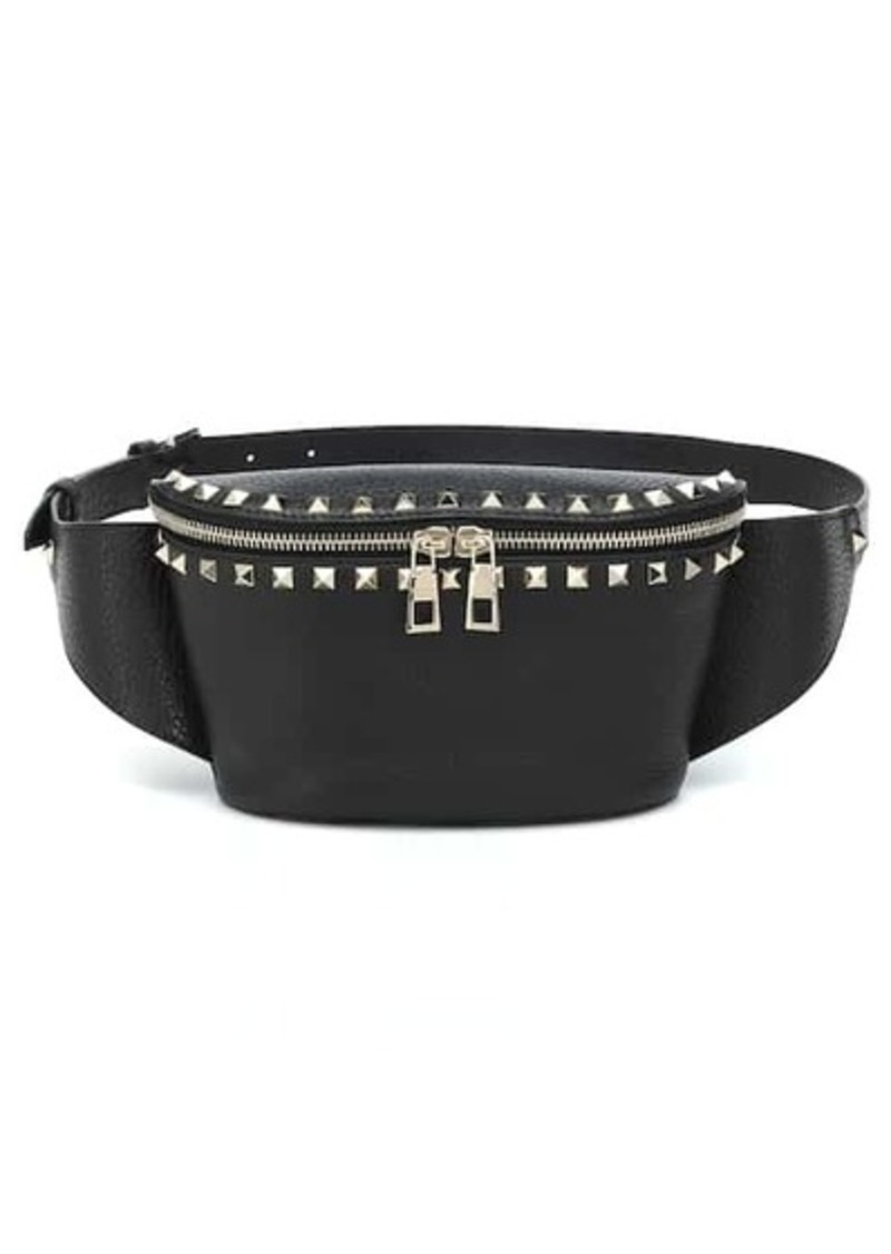 Valentino Garavani Rockstud Spike leather belt bag
