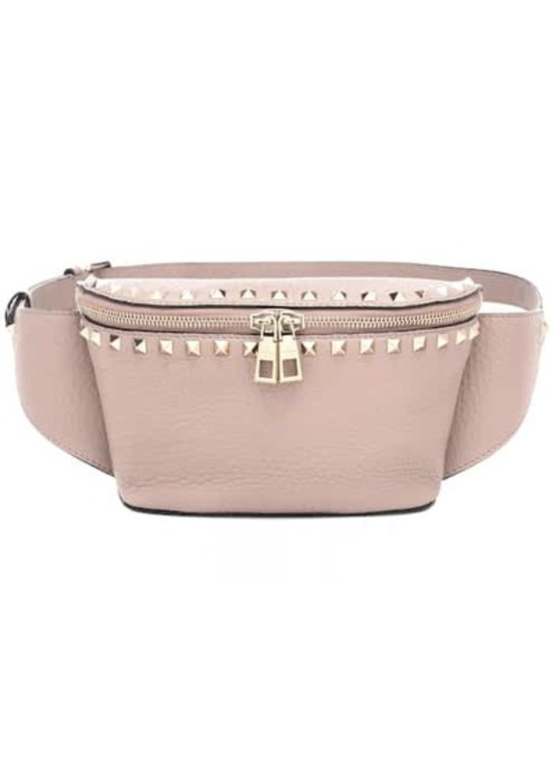 Valentino Garavani Rockstud Spike leather belt bag