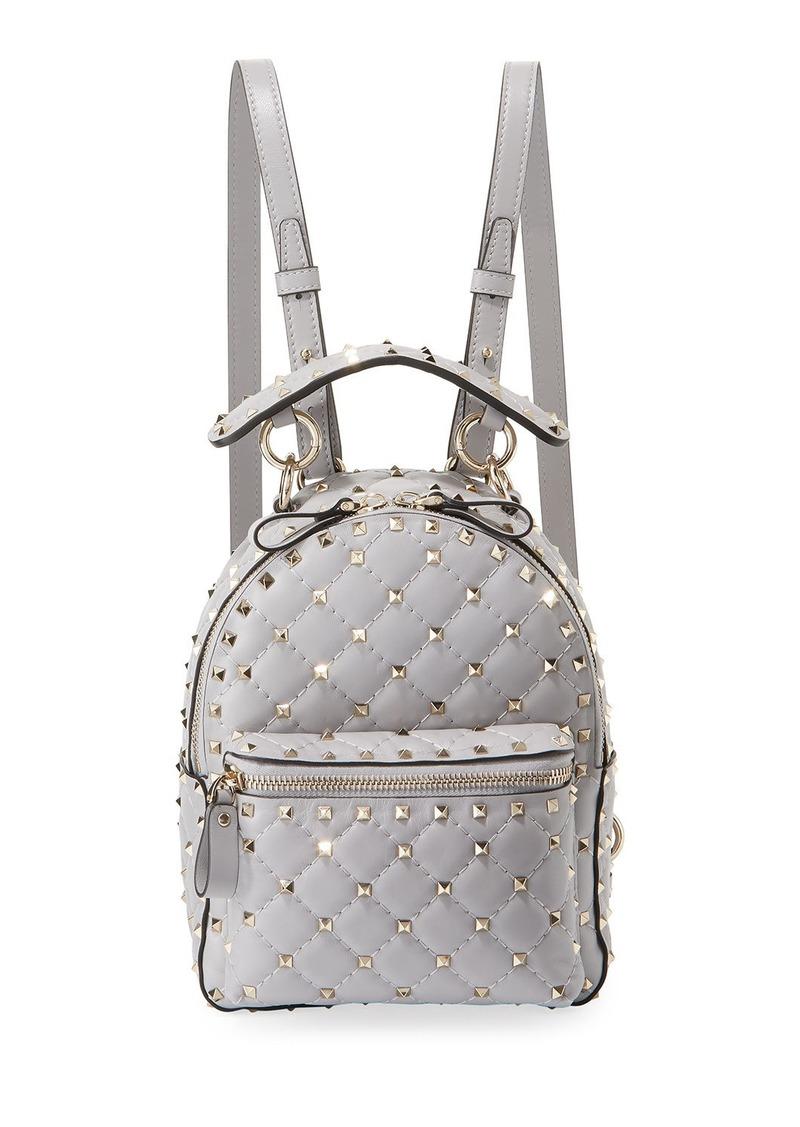 0e7fba4a35 Valentino Rockstud Spike Mini Leather Backpack | Handbags