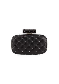 Valentino Garavani Rockstud Spike Quilted Minaudiere Bag