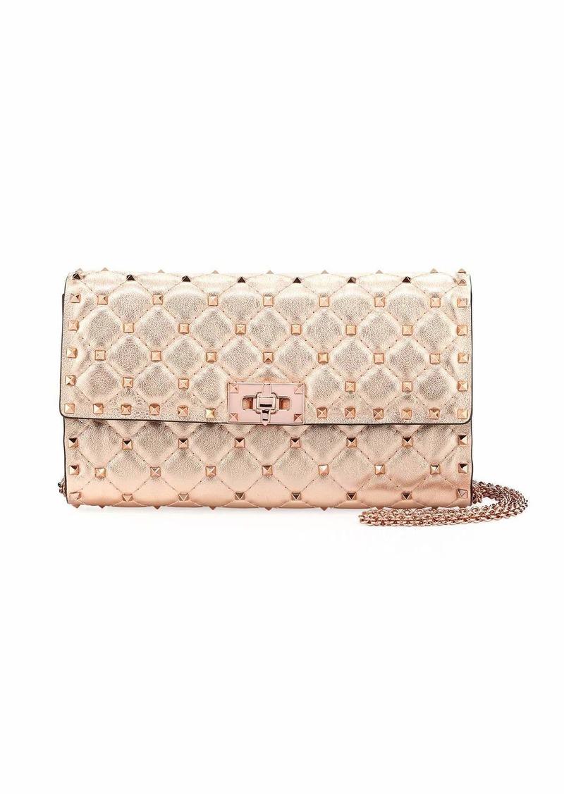 8e144ae48d Valentino Rockstud Spike Shoulder Bag - Rose Hardware | Handbags