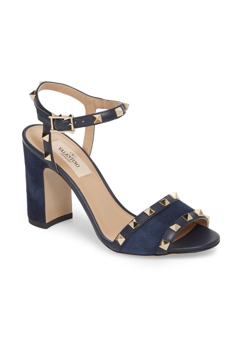 e17eec43b6 Valentino VALENTINO GARAVANI Rockstud Suede Sandal (Women) | Shoes