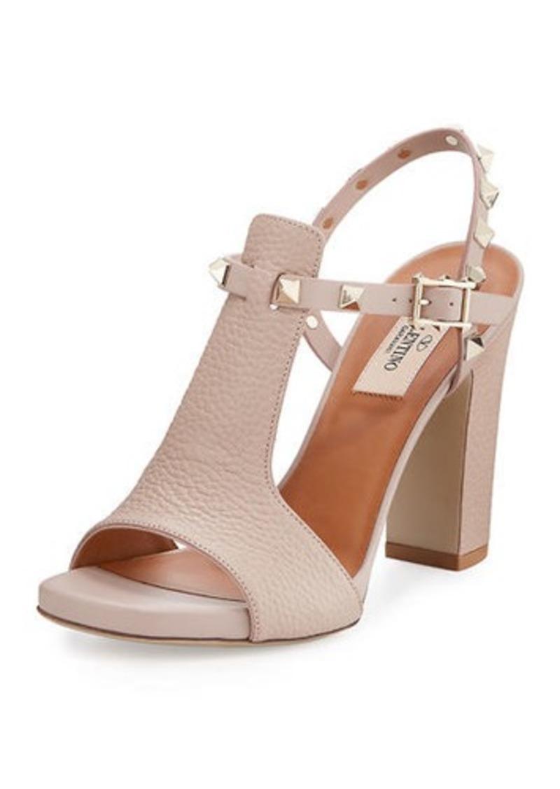 0e15749de10c Valentino Rockstud T-Strap 105mm Sandal