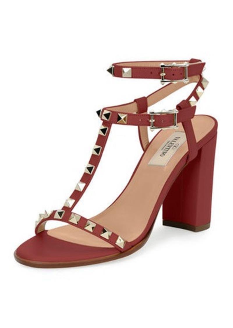 df06fbcfbef Valentino Rockstud T-Strap 90mm Sandals