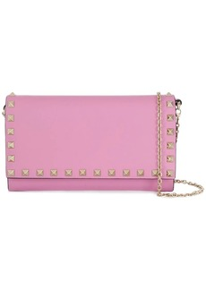Valentino Garavani Rockstud wallet on chain