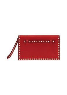 Valentino Garavani Rockstud Wristlet Clutch Bag