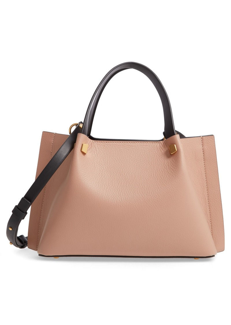 Valentino Garavani Small VLOGO Leather Tote