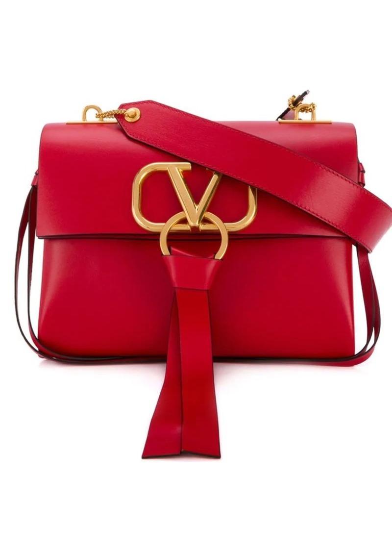4e085626e3 Valentino Valentino Garavani small v-ring shoulder bag | Jewelry