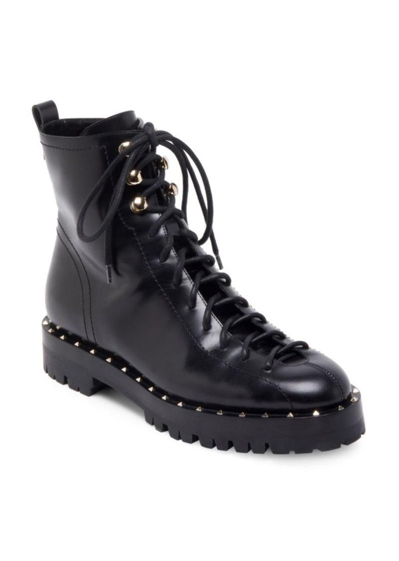 19120ed155b9 Valentino Valentino Garavani Soul Rockstud Leather Booties