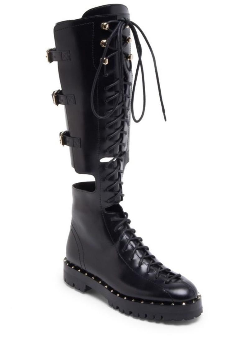 d3af9441d3e2e Valentino Soul Rockstud Leather Boots