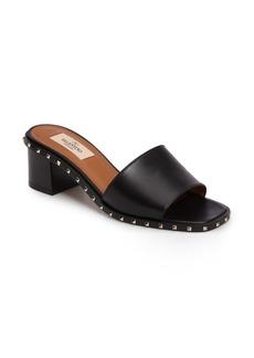 VALENTINO GARAVANI Soul Studded Slide Sandal (Women)