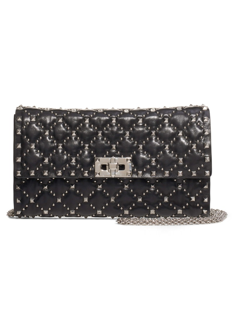 Valentino Garavani Spike It Leather Shoulder Bag