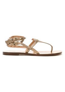 Valentino Garavani Rockstud Double flip-flop sandals