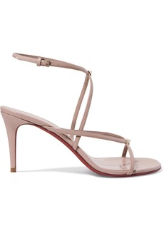 Valentino Garavani The Rockstud Nude 80 Leather Sandals