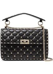 Valentino Garavani The Rockstud Spike Medium Quilted Leather Shoulder Bag