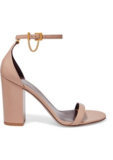Valentino Garavani Tiny Chain 100 Leather Sandals