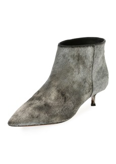 Valentino Garavani Twist Heel Low Ankle Boot