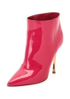 Valentino Garavani Twist-Heel Patent Ankle Bootie
