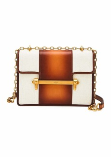Valentino Garavani Uptown Bicolor Leather Shoulder Bag