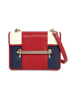 Valentino Uptown Color Block Leather Bag