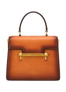 Valentino Garavani Uptown Leather Top-Handle Bag