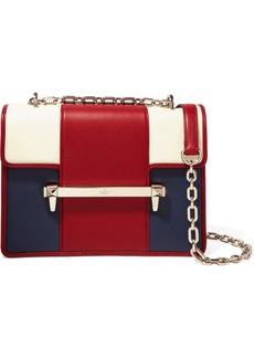 Valentino Garavani Uptown Medium Color-block Leather Shoulder Bag