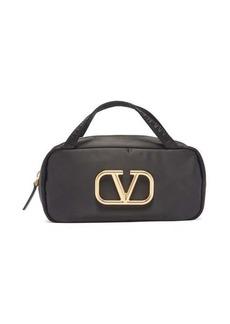 Valentino Garavani V-logo makeup bag
