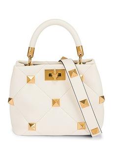 Valentino Garavani Small Roman Stud Top Handle Bag