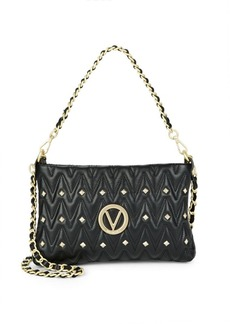 Valentino by Mario Valentino Vanilled Leather Crossbody Bag