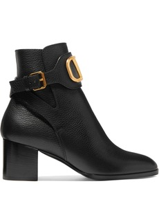 Valentino Garavani Vlogo 60 Leather Ankle Boots