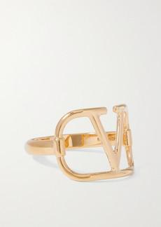 Valentino Garavani Vlogo Gold-tone Ring