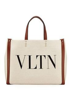 Valentino Garavani VLTN Grande Plage Small Tote Bag