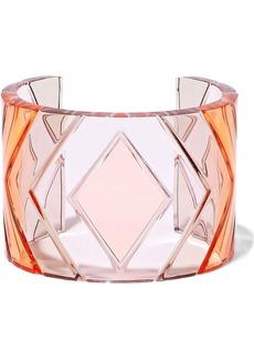 Valentino Garavani Woman Acrylic Cuff Baby Pink