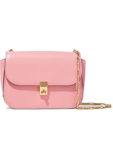 Valentino Garavani Woman All Over Chain Leather Shoulder Bag Blush