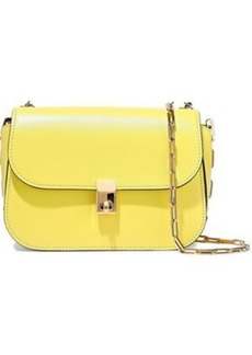 Valentino Garavani Woman All Over Chain Leather Shoulder Bag Yellow
