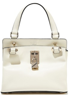 Valentino Garavani Woman Joylock Leather Shoulder Bag Ecru