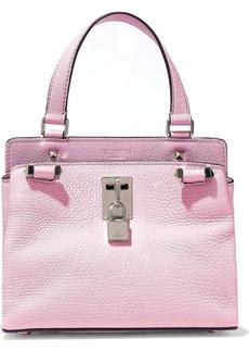 Valentino Garavani Woman Joylock Pebbled-leather Shoulder Bag Baby Pink
