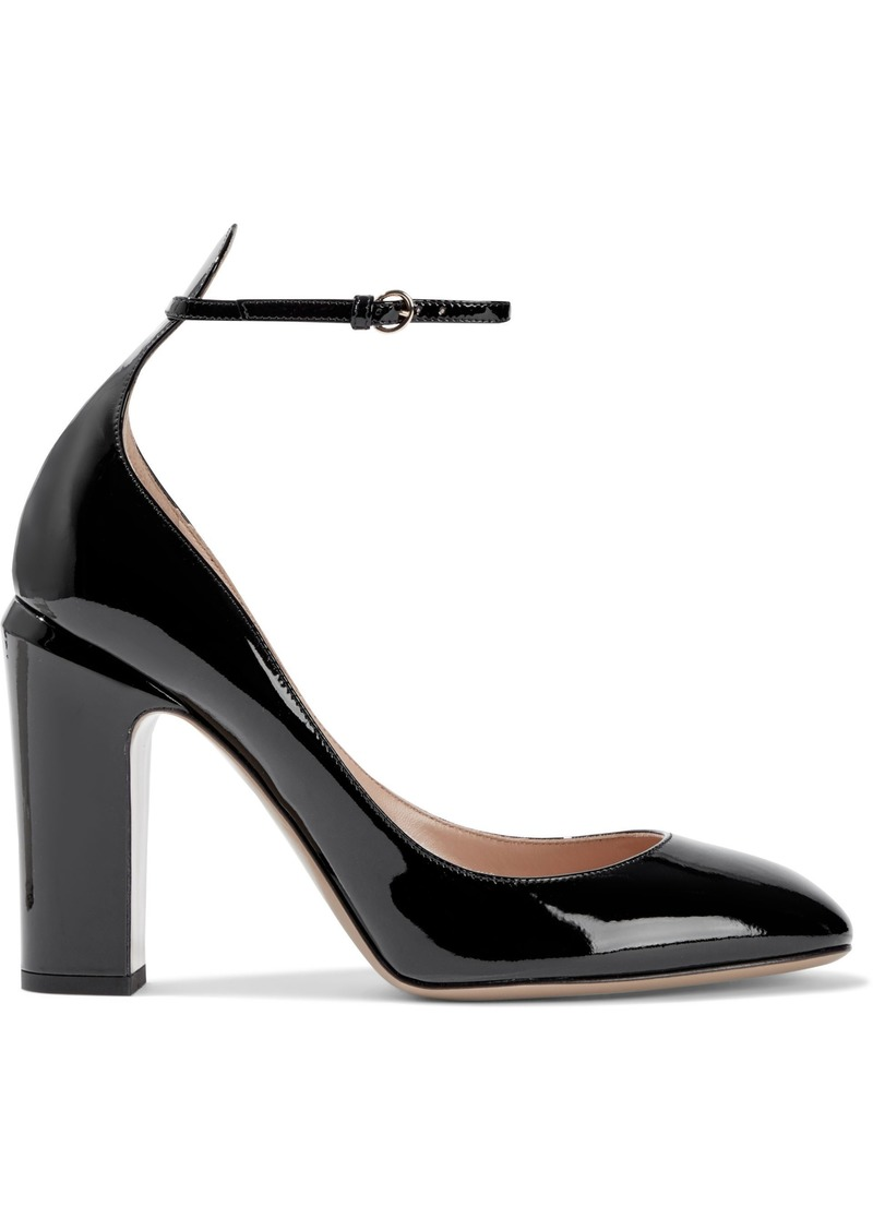Valentino Garavani Woman Patent-leather Pumps Black