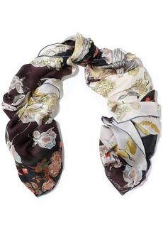 Valentino Garavani Woman Printed Silk-gauze Scarf Multicolor