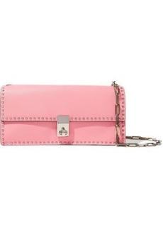 Valentino Garavani Woman Rockstud Leather Clutch Baby Pink