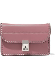 Valentino Garavani Woman The Rockstud Mini Shoulder Bag Antique Rose